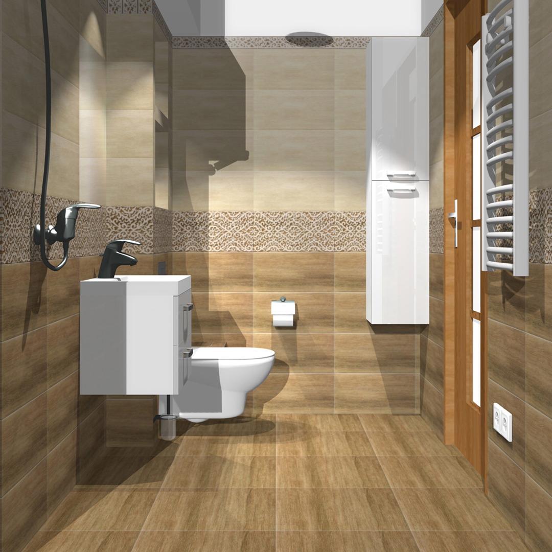projekt aranżacji-małej łazienki