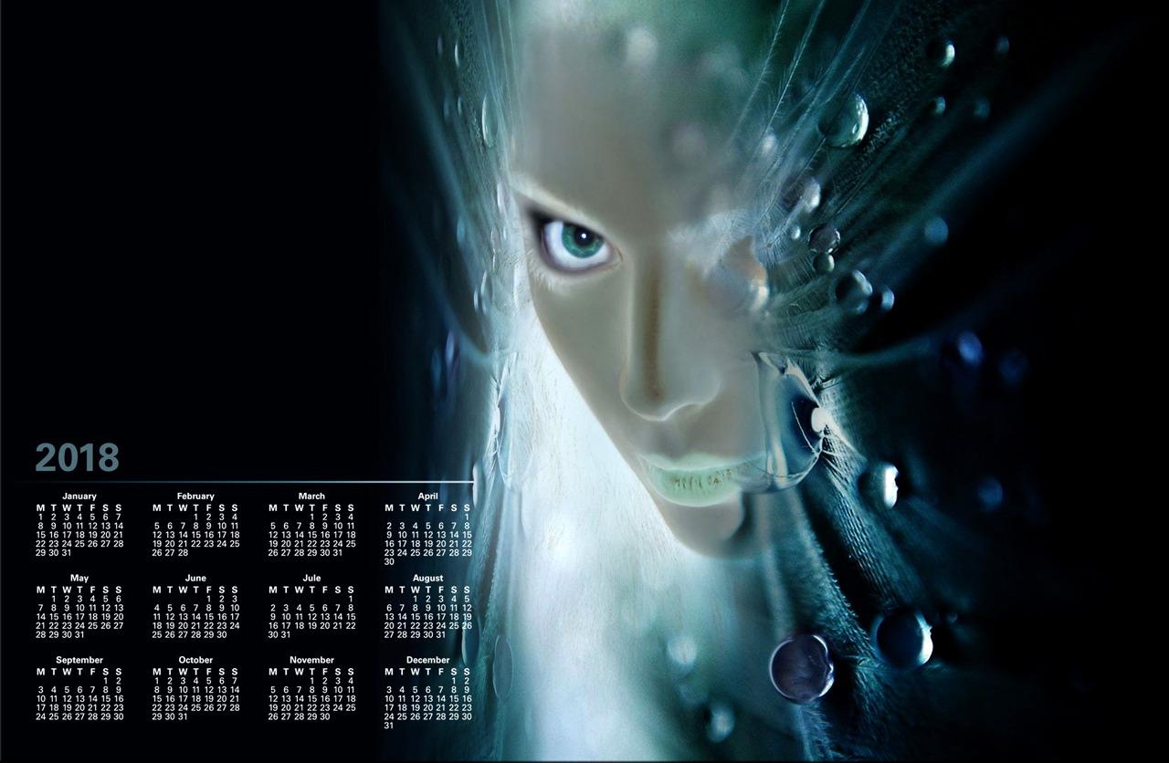 projekt graficzny - kalendarz